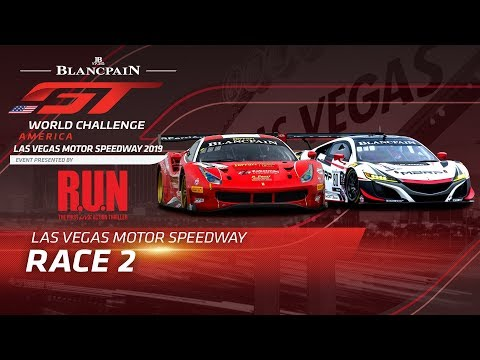 RACE 2 - LAS VEGAS MOTOR SPEEDWAY - Blancpain GT World Challenge America 2019
