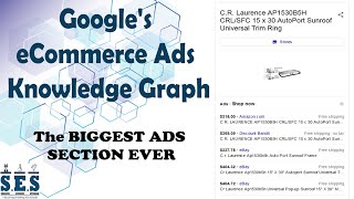 Google's Ecommerce Ads Knowledge Graph - PPC Ads Shift On SERP Major Update