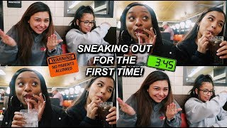 Sneaking Out For The First Time! | MontoyaTwinz