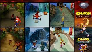 Crash Bandicoot Animal Riding Theme OST Evolution