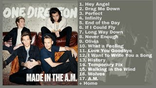 One Direction - Made In The A.M FULL ALBUM (Audio)