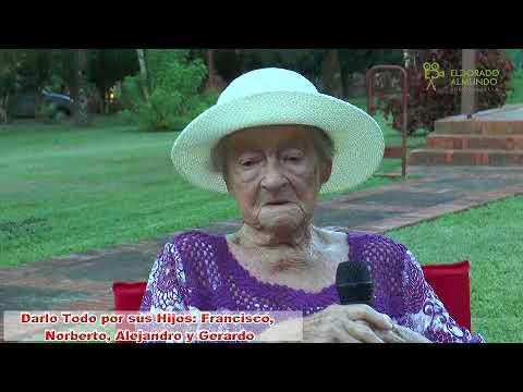 Entrevista exclusiva a Úrsula Hübner. Pionera de Eldorado
