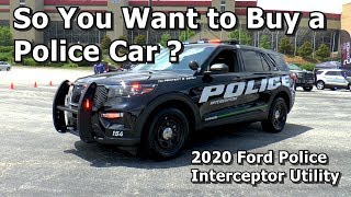 So You Want to Buy a Police Car? - 2020 Ford Police Interceptor