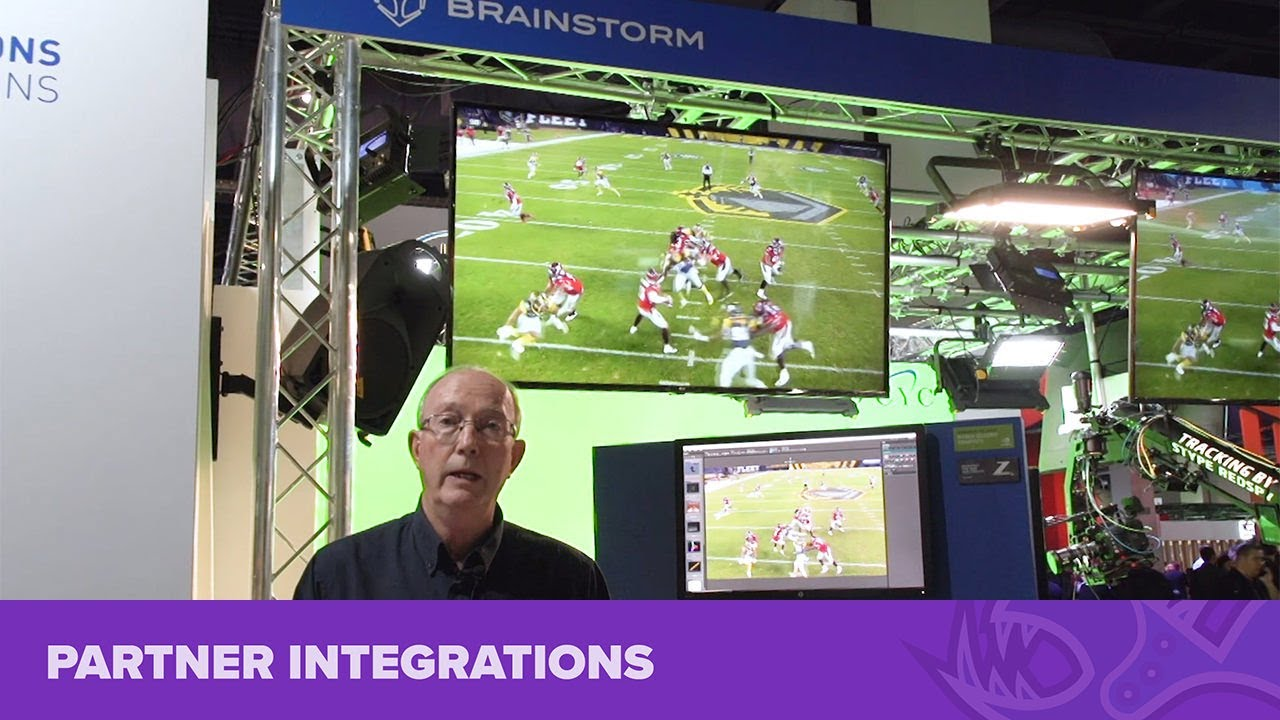 Bluefish444 with Brainstorm at NAB Show 2019