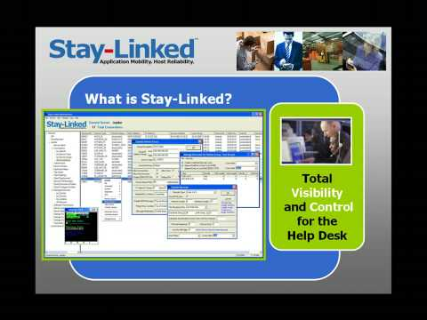 Video of StayLinked Terminal Emulation