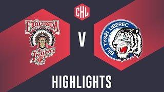 Highlights: Frölunda Indians vs. Bílí Tygři Liberec