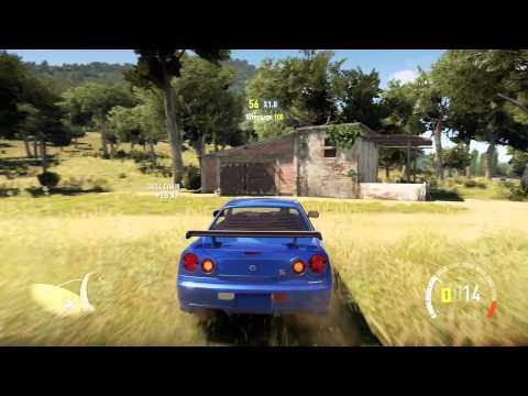 Forza Horizon 2 Barn Find 2 San Giovanni Corn Wolf Video