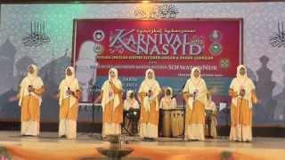 Festival Nasyid Kluster Kebangsaan 2013   Wardatuddiniah (SMKA Sharifah Rodziah)