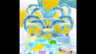 Creative Rubber Ducky Baby Shower Decorations