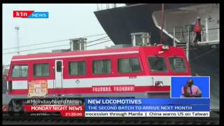 Monday Night News: six CRRC Qishuyan freight train locomotives reach the port of Mombasa