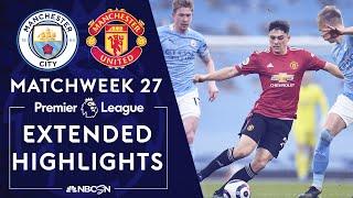 Manchester City v. Manchester United   PREMIER LEAGUE HIGHLIGHTS   3/7/2021   NBC Sports