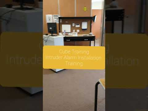 Intruder Alarm Installation Course by Cube Training - YouTube