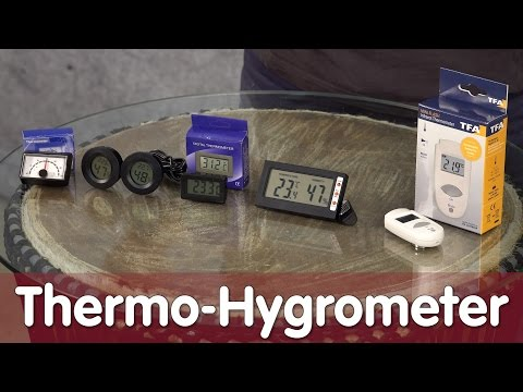 Reptil TV - Technik - Thermo-Hygrometer