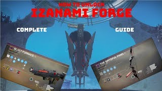 How to unlock IZANAMI FORGE D2 - Complete Guide