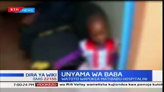 Watoto wawilili wauguza majeraha baada ya kudaiwa kulawitiwa na baba yao huko Mwingi