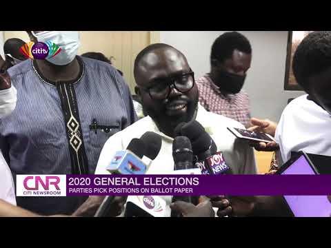NPP picks number 1, NDC number 2 on ballot paper | Citi Newsroom