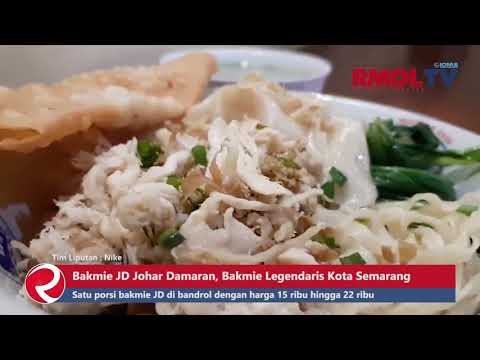 Bakmie JD Johar Damaran, Bakmi Legendaris Kota Semarang