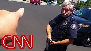 Cop Confrontation Goes Viral