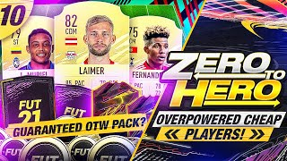 FIFA 21 Zero to Hero - Cheap Overpowered Players!