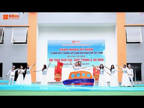 Múa - Nơi đảo xa - Tập thể thầy cô, học sinh trường THCS&THPT Quốc tế Thăng Long