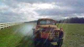 Old Studebaker truck comes to life after 30 years