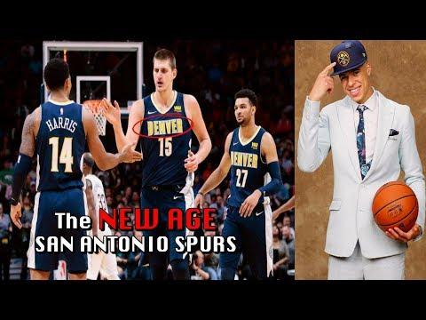The New Age San Antonio Spurs