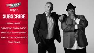 SPEAK FOR YOURSELF Audio Podcast (2.15.17) with Colin Cowherd, Jason Whitlock   SPEAK FOR YOURSELF
