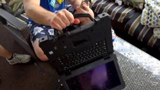 Dell Rugged PCs Destructive Demo |  HotHardware