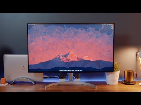 Hands-On with LG's New UltraFine 4K Display (LG 32UL950)