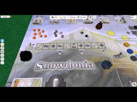 How to set up Snowdonia on Tabletop Simulator