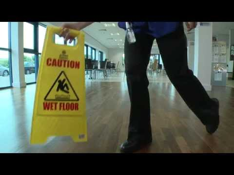 HEALTH & SAFETY TRAINING VIDEO FOR THE CLEANING ...