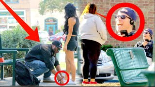 Will Cute Boys Help a Skinny Girl or Fat Girl? Is CHIVALRY Dead? Social Experiment part ll
