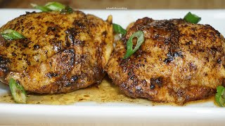 HOW TO GET JUICY CHICKEN THIGHS IN THE OVEN| Must Try This Tonight!