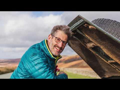 Andy's Landie Wellbeing trip around N England & Scotland