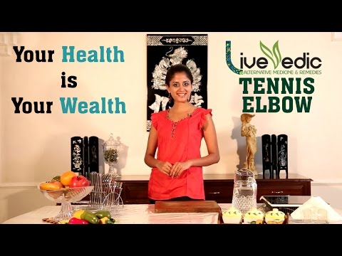 Video DIY: Tennis Elbow Pain Relief with Natural Home Remedies | LIVE VEDIC