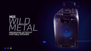 NGS bring the noise with the Wild Metal Bluetooth Speaker