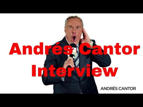 Andrés Cantor interview about World Cup 2018