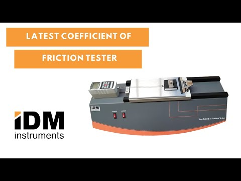 C0055 Coefficient of Friction Tester