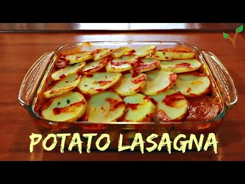 Potato Lasagna! - Vegan recipes!