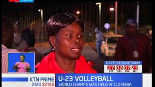 Kenya's women U-23 volleyball team loses to Slovenia in the World Championships