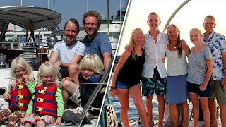 Seafaring Family of 5 Successfully Sails Around the Globe