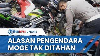 Pengendara Moge yang Tabrak Pemotor hingga Tewas di Bintaro Jadi Tersangka namun Tidak Ditahan