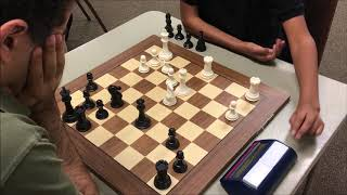 Can Strong 13 Year Old Pull Off Upset vs. GM Ehsan?