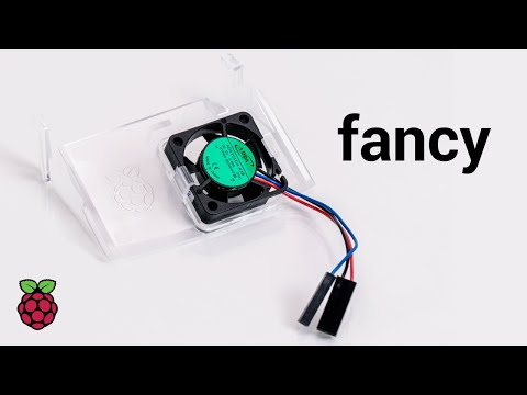 Raspberry Pi Fan de l'affaire (dissipateur thermique)