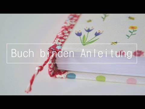 Grundtechnik Fadenbindung   Buch binden Anleitung für Anfänger DIY