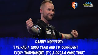 "Danny Noppert: ""I've had a good year and I'm confident every tournament, it's a dream come true"""
