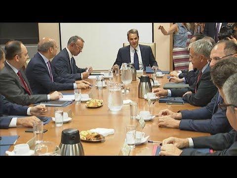 Σύσκεψη στο Υπουργείο Οικονομικών υπό τον Κ. Μητσοτάκη – Στο επίκεντρο οι αποκρατικοποιήσεις