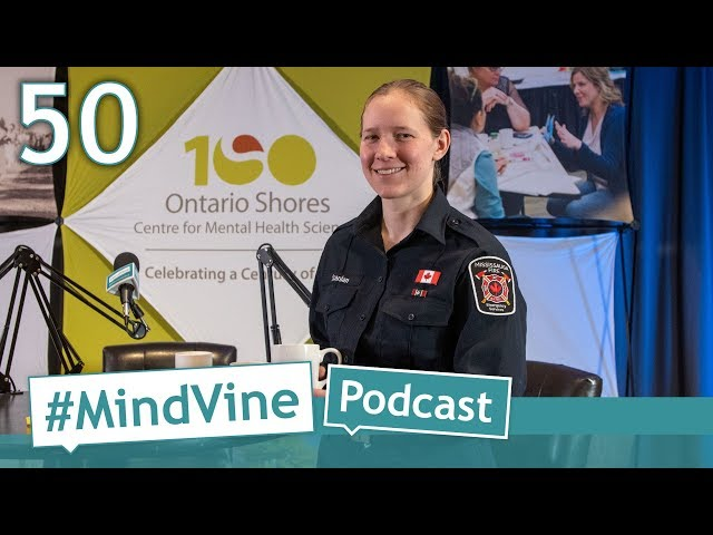 #MindVine Podcast Episode 50 - Bell Let's Talk Day with firefighter and former soldier Kelly Scanlan