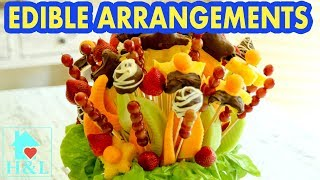 How To Make An Edible Fruit Bouquet - DIY Edible Fruit Arrangements || Health And Lifestyle
