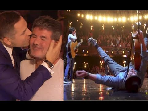 2 GOLDEN BUZZERS: EMOTIONAL MAGIC & FATHER + SON On BRITAIN'S GOT TALENT 2018! (видео)